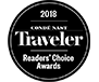 Conde Nast - Readers' Choice Award
